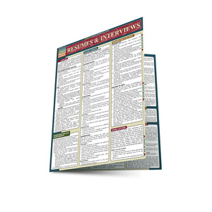 QuickStudy | Resumes & Interviews Laminated Reference Guide