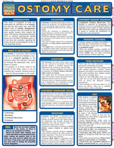 QuickStudy | Ostomy Care Laminated Reference Guide