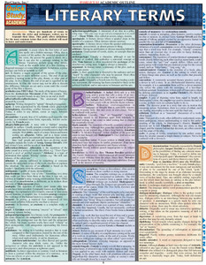 QuickStudy | Literary Terms Laminated Study Guide