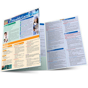 QuickStudy | Introduction To Healthcare Laminated Reference Guide