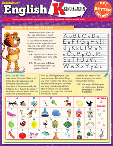 QuickStudy | English: Kindergarten Laminated Study Guide