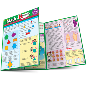 QuickStudy | Math: Kindergarten Laminated Study Guide
