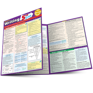QuickStudy | Writing: 5th Grade Laminated Study Guide