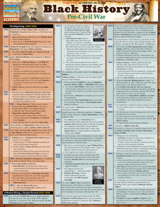 QuickStudy | Black History: Pre-Civil War Laminated Study Guide