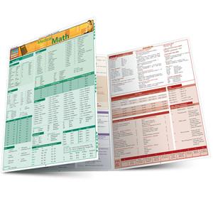 Quick Study QuickStudy Medical Math Laminated Study Guide BarCharts Publishing Medical Math Guide Main Image