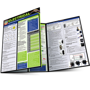 Quick Study QuickStudy Electrical Laminated Reference Guide BarCharts Publishing Engineering Guide Main Image