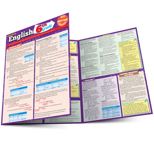 QuickStudy | English: 6th Grade Laminated Study Guide