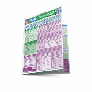 QuickStudy | Math Fundamentals 2 Laminated Study Guide