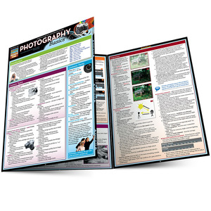 Quick Study QuickStudy Photography Basics Laminated Study Guide BarCharts Publishing Reference Guide Main Image
