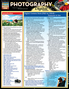 QuickStudy   Photography: Digital Essentials Laminated Reference Guide