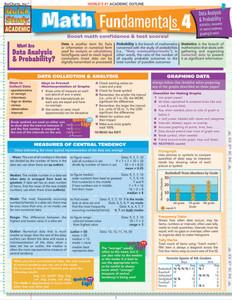 QuickStudy | Math Fundamentals 4 Laminated Study Guide
