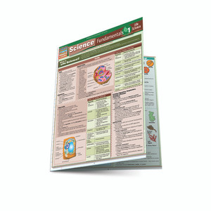 QuickStudy | Science Fundamentals 1: Cells, Plants and Animals Laminated Study Guide