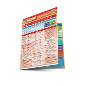 QuickStudy | English Fundamentals 1 Laminated Study Guide