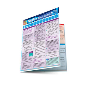QuickStudy | English Fundamentals 2 Laminated Study Guide