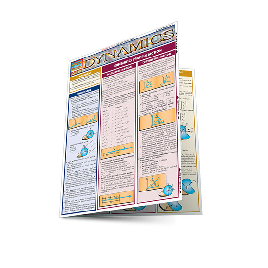 QuickStudy | Dynamics Laminated Study Guide