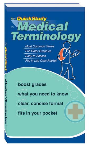 QuickStudy   Medical Terminology Study Book