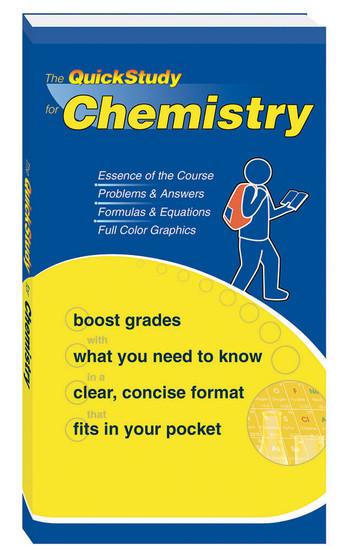 QuickStudy | Chemistry Study Book