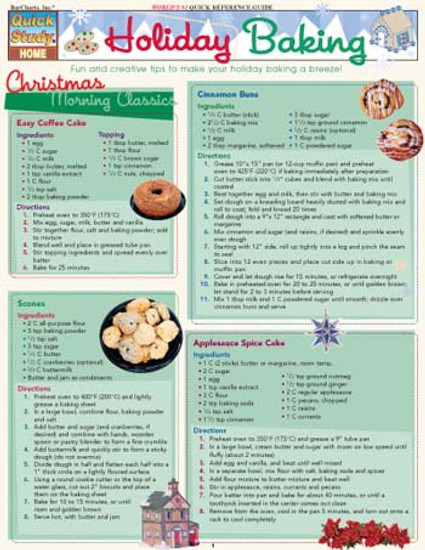 Holiday Baking Digital Reference Guide