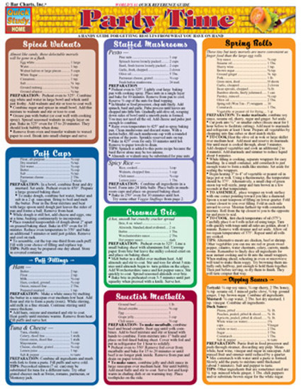 QuickStudy | Party Time Digital Reference Guide