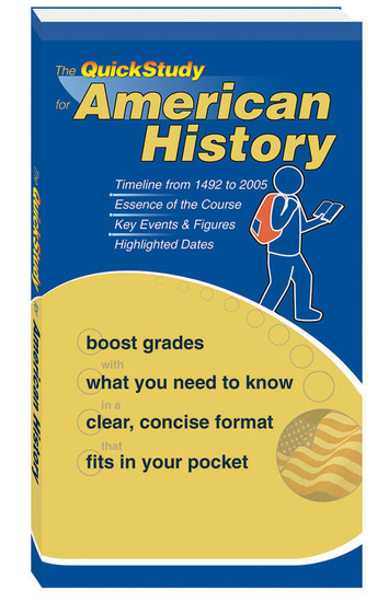 QuickStudy for American History Study Book