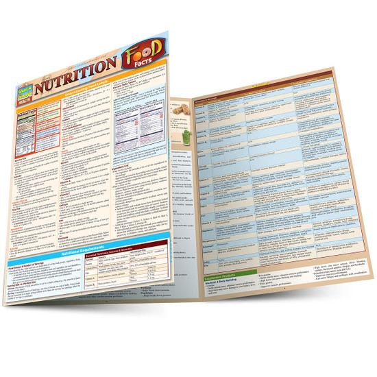 QuickStudy | Nutrition: Food Facts Laminated Reference Guide