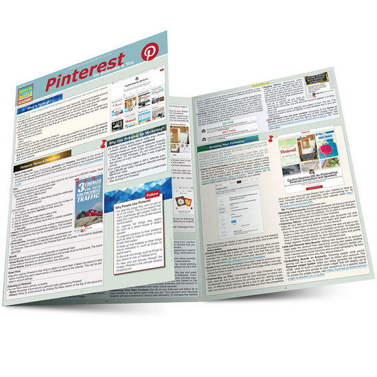 QuickStudy   Pinterest Laminated Reference Guide