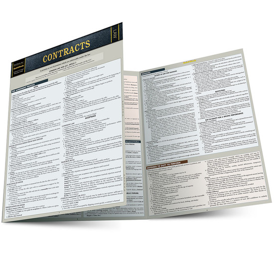 QuickStudy | Contracts Laminated Reference Guide