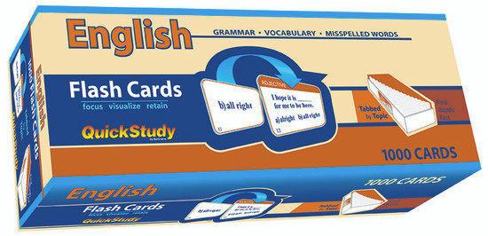 QuickStudy | English Flash Cards