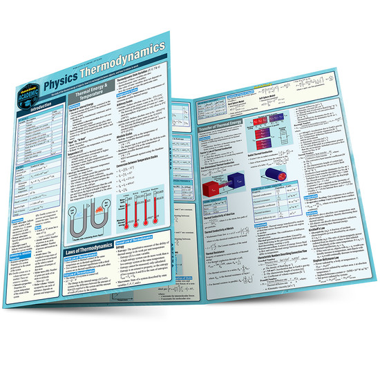 QuickStudy | Physics Thermodynamics Laminated Study Guide