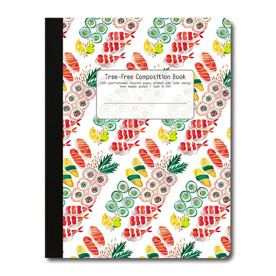 Tree-Free Greetings | Sushi Pattern Composition Book