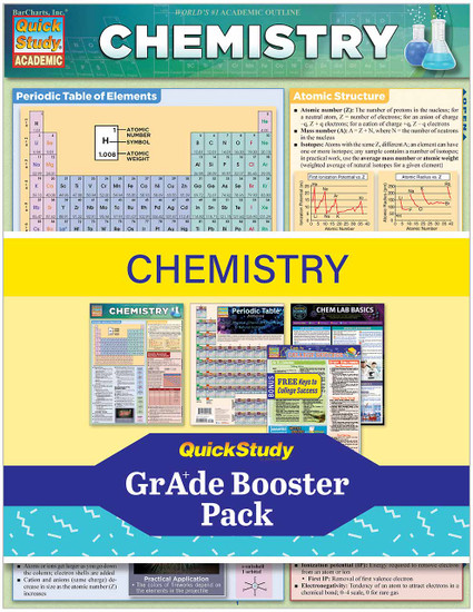 QuickStudy | Chemistry Grade Booster Pack
