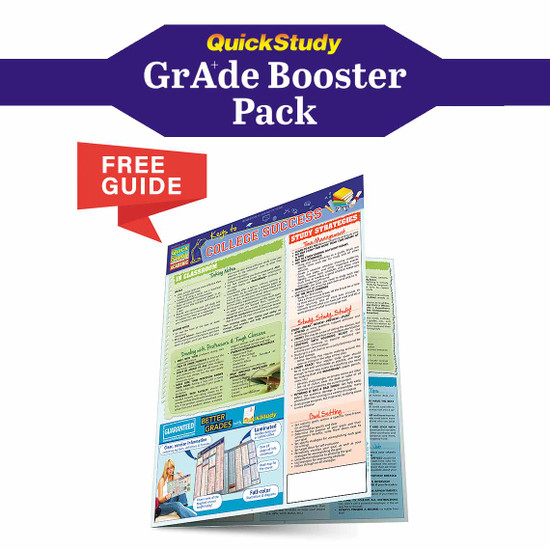 QuickStudy | American History Grade Booster Pack