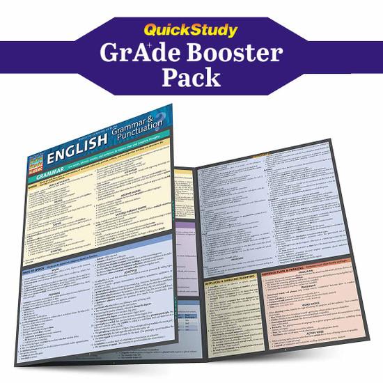 QuickStudy | English Grade Booster Pack