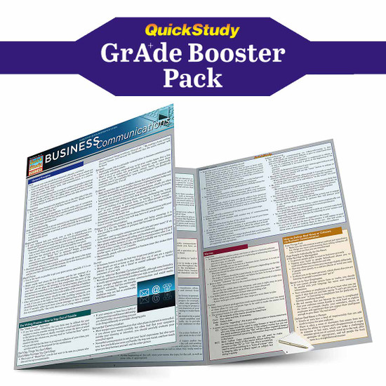 QuickStudy | Introduction to Business Grade Booster Pack