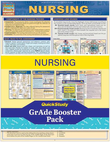 QuickStudy | Nursing Grade Booster Pack