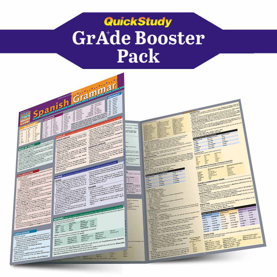 QuickStudy | Spanish Grade Booster Pack