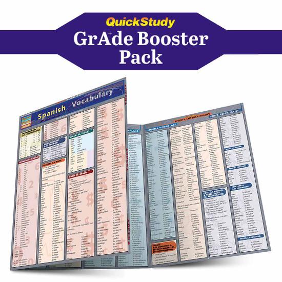QuickStudy | Spanish Grade Booster Pack