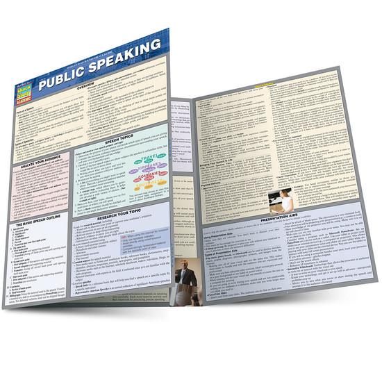 QuickStudy   Public Speaking Laminated Guide