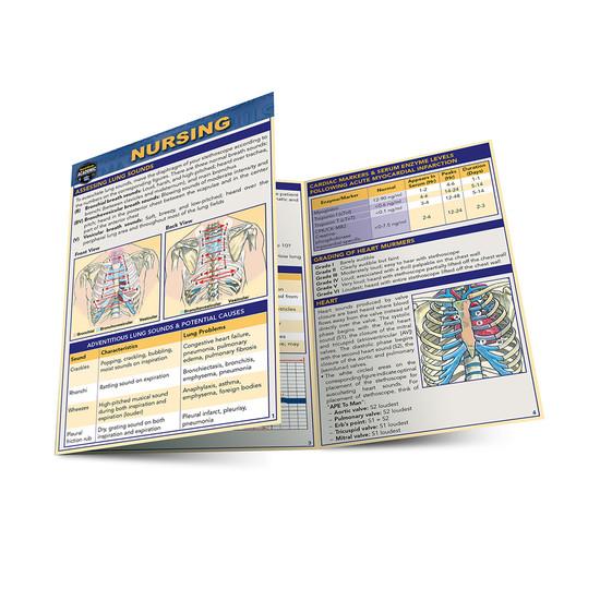 QuickStudy | Nursing Laminated Pocket Guide