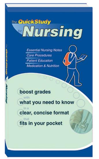QuickStudy for Nursing Study Book