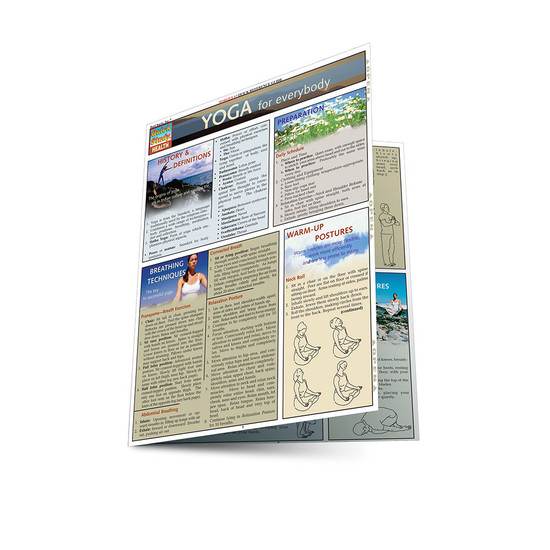 QuickStudy | Yoga for Everybody Laminated Reference Guide