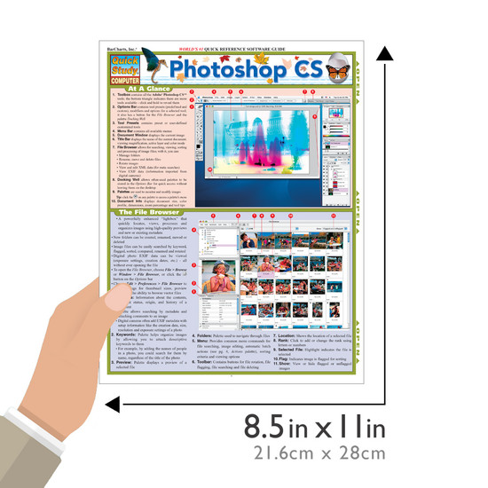 QuickStudy | Photoshop CS Laminated Reference Guide