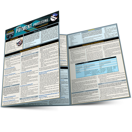 QuickStudy | Business Payment Processing Laminated Reference Guide