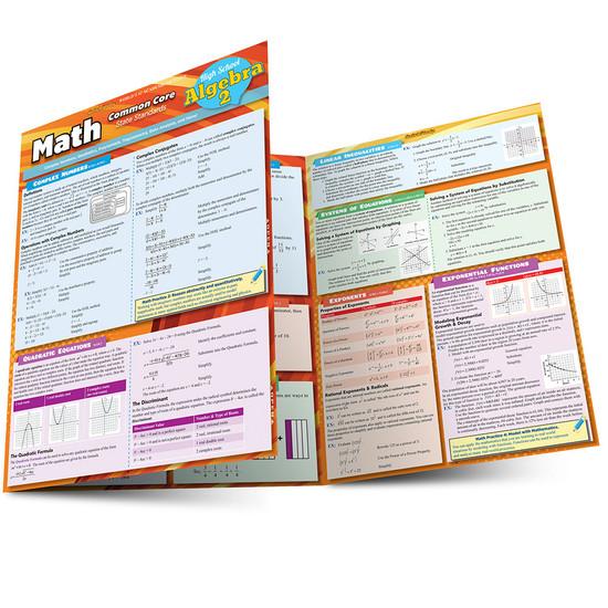 QuickStudy | Math 3: Common Core - 11th Grade Laminated Study Guide