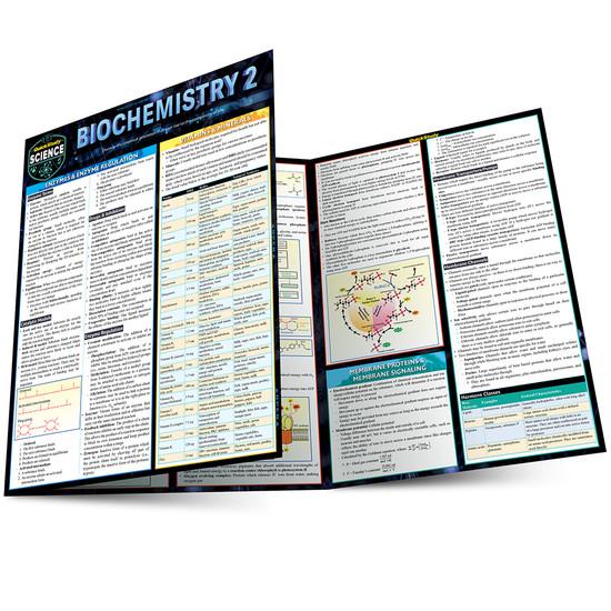 QuickStudy | Biochemistry 2 Laminated Study Guide