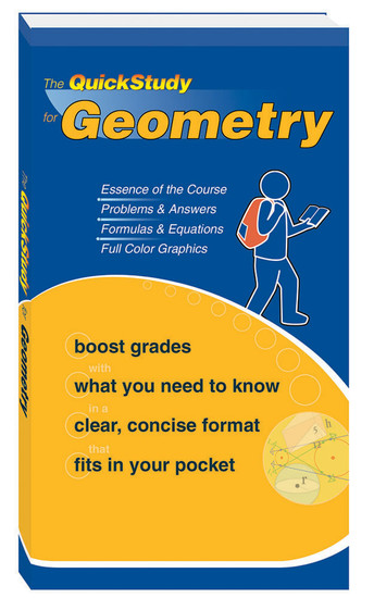 QuickStudy for Geometry Study Book