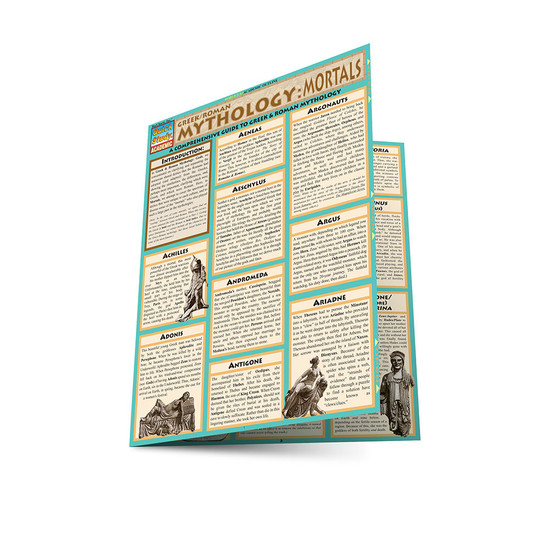QuickStudy | Mythology: Greek/Roman Mortals Laminated Study Guide