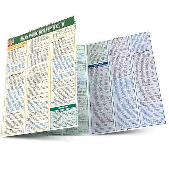 QuickStudy | Bankruptcy Laminated Reference Guide