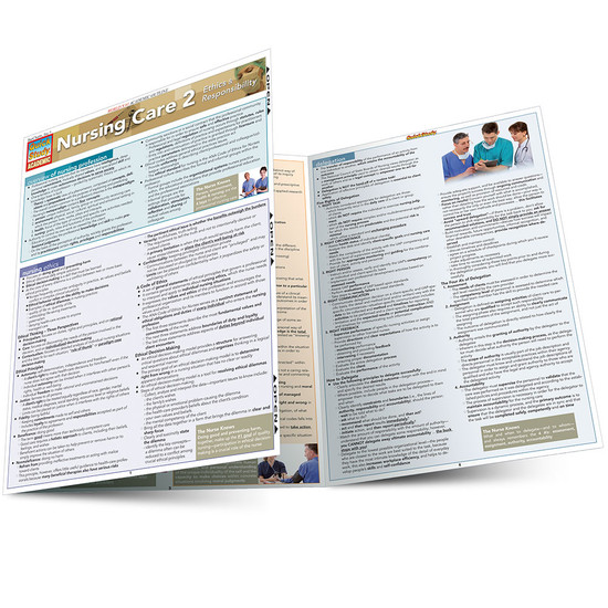QuickStudy | Nursing Care 2 Laminated Study Guide