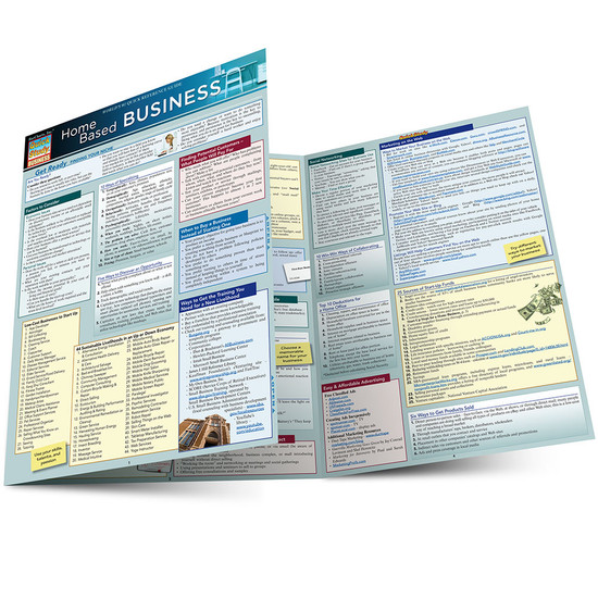 QuickStudy | Home-Based Business Laminated Reference Guide